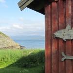 Austrått Camping og Motel ligger et steinkast unna sjøen med gode bade og fiske muligheter