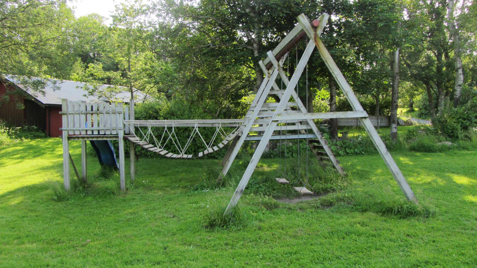 Lekeplass på Austrått Camping og Motel