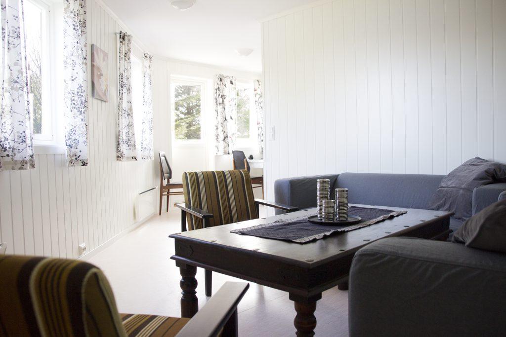 Felles stue for 2 etg Austrått Camping og Motel