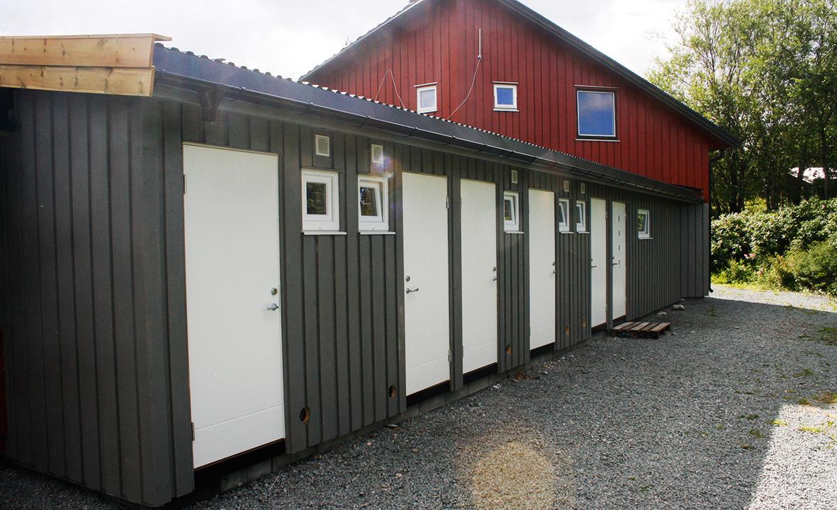 Nytt santæranlegg på Austrått Camping og Motel