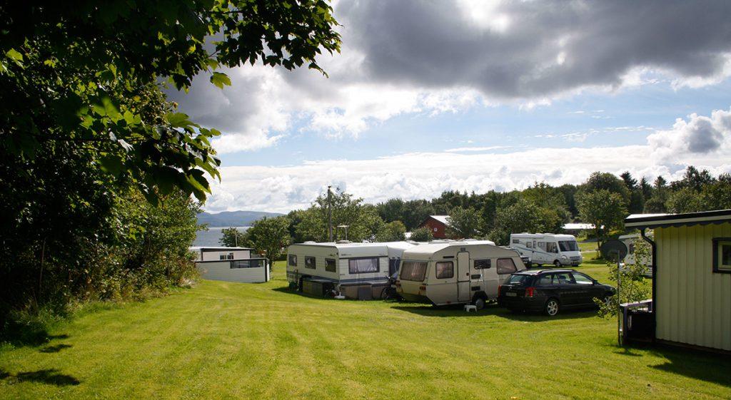 Camping på Austrått Camping og Motel